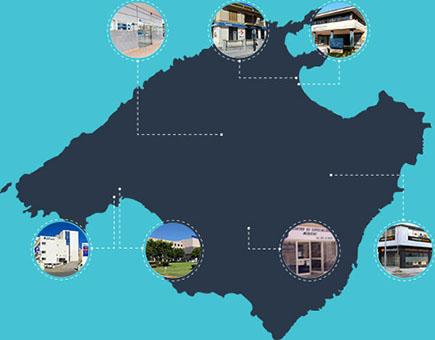 Puntos de asistencia ORL Mallorca